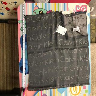 カルバンクライン(Calvin Klein)のCalvin Klein カルバンクライン 男女兼用 タグ付き・総柄・マフラー(マフラー)