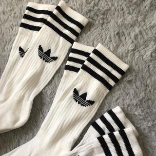 adidas - 新品adidas オリジナル 3点セット♡ 靴下 ソックス