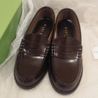 ハルタ(HARUTA)の【新品・未使用】HARUTA ローファー 本革 23.5cm 3E(ローファー/革靴)