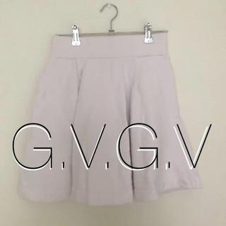 ジーヴィジーヴィ(G.V.G.V.)の【G.V.G.V】フレアニットミニスカート(ミニスカート)