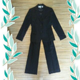 ナチュラルビューティーベーシック(NATURAL BEAUTY BASIC)のNATURAL  BEAUTY  BASIC  黒のパンツスーツ(スーツ)