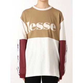 ムルーア(MURUA)のT01137/MURUA ellesseコラボミックスロゴロンT(Tシャツ(長袖/七分))