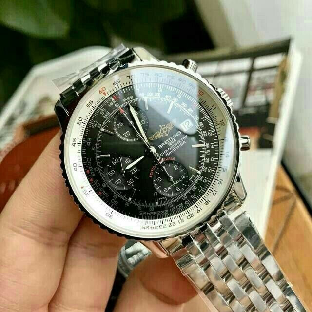 BREITLING - BRETLINGブライトリングメンズ自動巻き腕時計の通販 by pontwh's shop|ブライトリングならラクマ