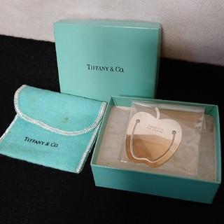 ティファニー(Tiffany & Co.)のティファニー アップル ブックマーカー SILVER 925 銀製品(しおり/ステッカー)