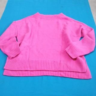 シップス(SHIPS)のSHIPS新品 綺麗なピンクのニット(ニット/セーター)