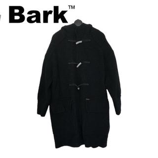 バーク(BARK)の【新品】 BARK バーク ダッフルコート ロングコート ブラック(ダッフルコート)