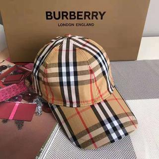 BURBERRY - BURBERRY チェック ベースボールキャップ