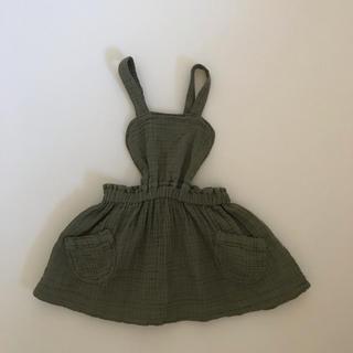 ZARA KIDS - 未使用 ZARA kids babygirl ジャンパースカート