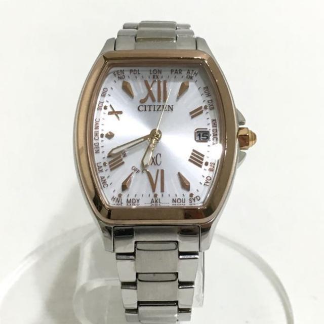 CITIZEN - CITIZEN/シチズン☆クロスシー エコドライブ 電波ソーラー 腕時計の通販 by ヤトウ尼崎's shop|シチズンならラクマ