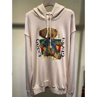 buy online c772b 0ff9d GUCCI●GUCCIロゴ&テディベア スウェットシャツ