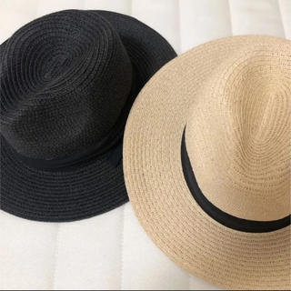 エイチアンドエム(H&M)の麦わら帽子 ストローハット(麦わら帽子/ストローハット)