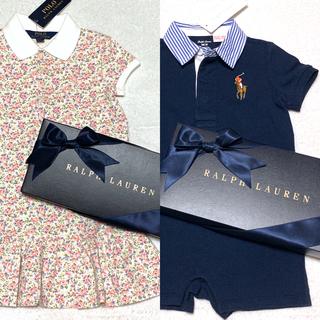 ポロラルフローレン(POLO RALPH LAUREN)の新品✨フローラル ポロシャツ ワンピース 5/115(ワンピース)