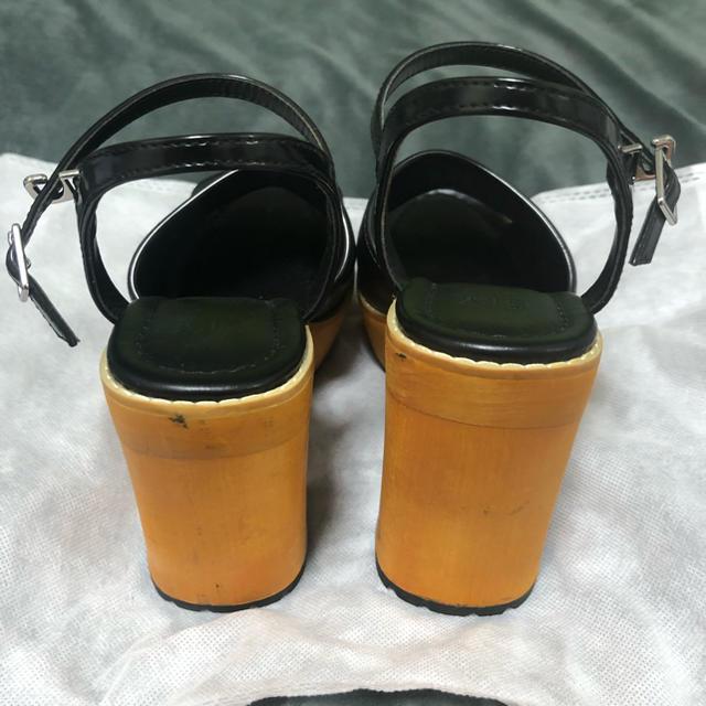 SLY(スライ)のSLY ウッドサンダル レディースの靴/シューズ(サンダル)の商品写真