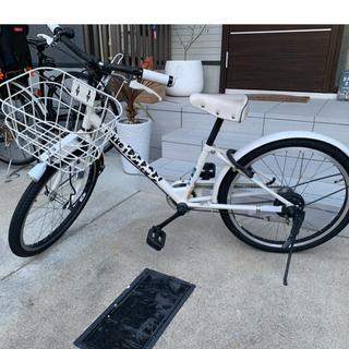 ブリヂストン(BRIDGESTONE)のnnmm83様専用です!!bikke キッズ自転車22インチ(自転車)
