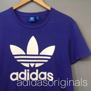 アディダス(adidas)のアディダス オリジナルス adidasoriginals Tシャツ パープル (Tシャツ/カットソー(半袖/袖なし))