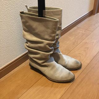 ルシェルブルー(LE CIEL BLEU)のUnited nude スウェードブーツ (ブーツ)
