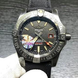 big sale e4b71 f4994 BREITLING 黒い鳥V4腕時計メンズ自動巻