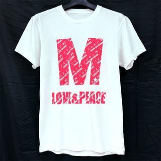 エム(M)のroar(roarguns)×M(エム)限定コラボTシャツ(ピンク・XSサイズ)(Tシャツ/カットソー(半袖/袖なし))