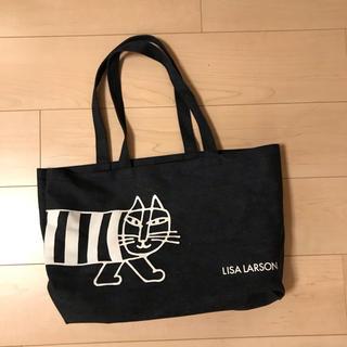 Lisa Larson - リサラーソン   デニムバッグ マイキー