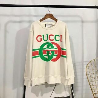 Gucci - GUCCI オーバーサイズ スウェットシャツ