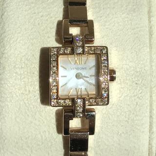 ヴァンドームアオヤマ(Vendome Aoyama)のヴァンドーム青山 ダイヤモンド 腕時計 ブレストウォッチ ブレスレット(腕時計)