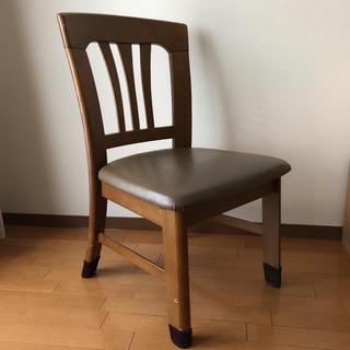 ニトリ(ニトリ)のダイニングチェア ② 椅子 1脚 肘なし ダイニングテーブル用 木製 木目 イス(ダイニングチェア)