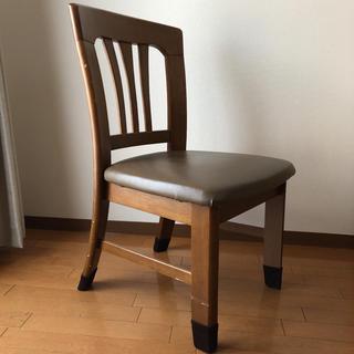 ニトリ(ニトリ)のダイニングチェア ③ 椅子 1脚 肘なし ダイニングテーブル用 木製 木目 イス(ダイニングチェア)