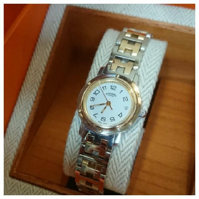 Hermes - P様専用  エルメス時計  極美品  CL4.220  ・  レディースの通販 by 〃 T u  r s t 〃|エルメスならラクマ