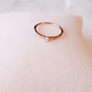 サマンサティアラ(Samantha Tiara)のサマンサティアラ K18 ダイヤモンド リング(リング(指輪))