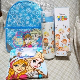 Disney - アナと雪の女王 保温 保冷 Dバッグ リュック 水筒 ウォッシュタオル2枚組