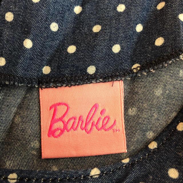 Barbie(バービー)のBarbie バービー ドットワンピース S チュニック レディースのワンピース(ミニワンピース)の商品写真