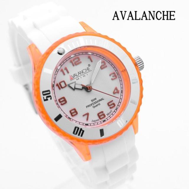 AVALANCHE - アバランチ 腕時計 レディース ブランド オレンジ AVM-1020S-ORの通販 by おもち's shop|アヴァランチならラクマ