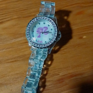バービー(Barbie)のバービー スケルトン ストーン 時計(腕時計)