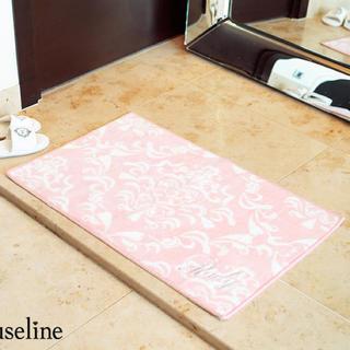 レディー(Rady)の新品未使用♡ Rady♡ ハートダマスクマルチマットS ピンク 玄関、バスマット(玄関マット)