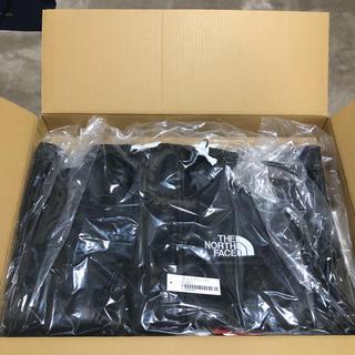 シュプリーム(Supreme)のsupreme North Face Leather マウンテンパーカー 黒 S(マウンテンパーカー)
