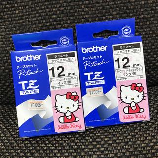 ハローキティ - brother ハローキティ テープカセット