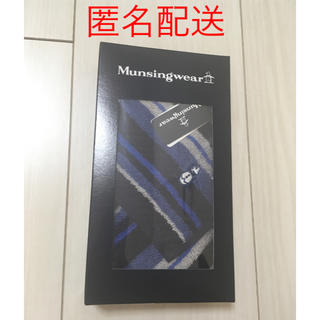 マンシングウェア(Munsingwear)の【新品未使用】Munsingwear タオルハンカチ(ハンカチ/ポケットチーフ)