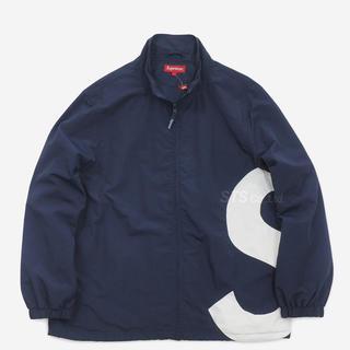 シュプリーム(Supreme)のSupreme S Logo Track Jacket NAVY M(ナイロンジャケット)
