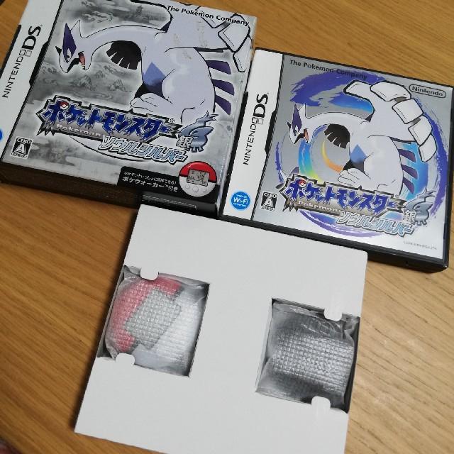 ポケモン(ポケモン)のポケモン ソウルシルバー エンタメ/ホビーのゲームソフト/ゲーム機本体(携帯用ゲームソフト)の商品写真