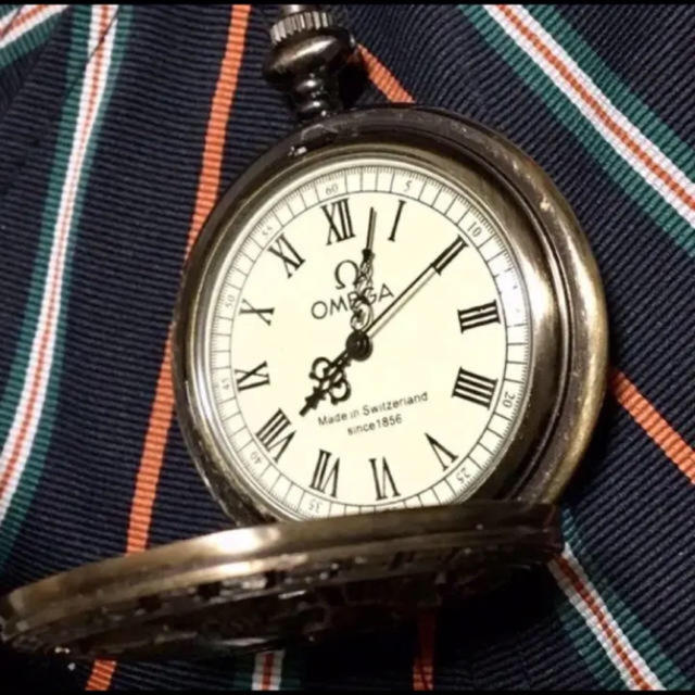 オメガ時計 Ω時計 OMEGA 懐中時計 OMEGA時計 1856年の通販 by moco's ...