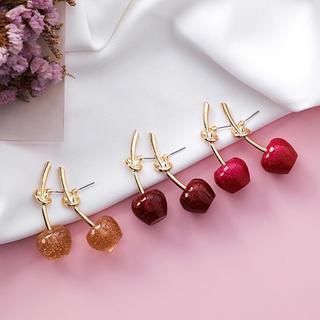 リリーブラウン(Lily Brown)の❤︎ Cherry cute pierce ❤︎(ピアス)