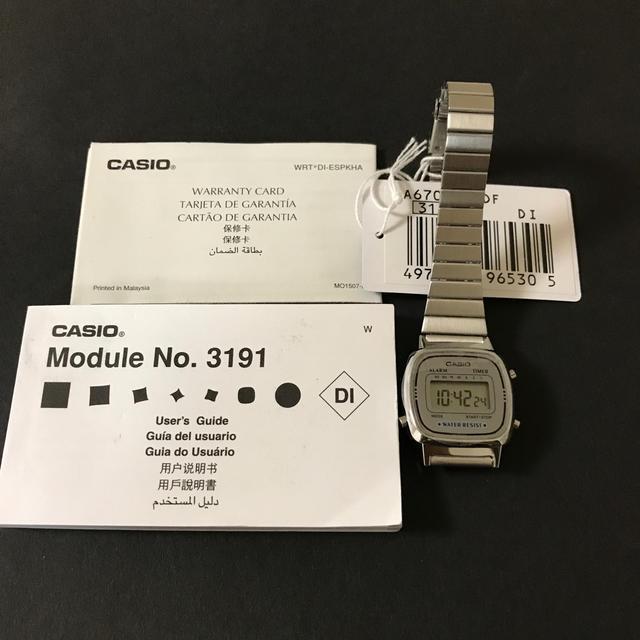 CASIO - CASIO レディス 腕時計の通販 by あかねパパ's shop|カシオならラクマ