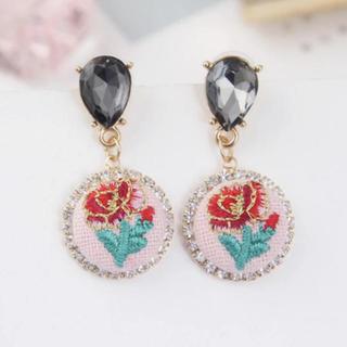 リリーブラウン(Lily Brown)の❤︎ Rose Jewel pierce ❤︎(ピアス)