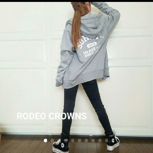 RODEO CROWNS WIDE BOWL(ロデオクラウンズワイドボウル)の☆ 新品未使用 ☆ RCWB ☆   メンズ  ジップパーカー メンズのトップス(パーカー)の商品写真
