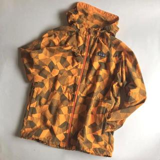 パタゴニア(patagonia)の【美品】patagonia kids Baggies Jacket オレンジ(ブルゾン)