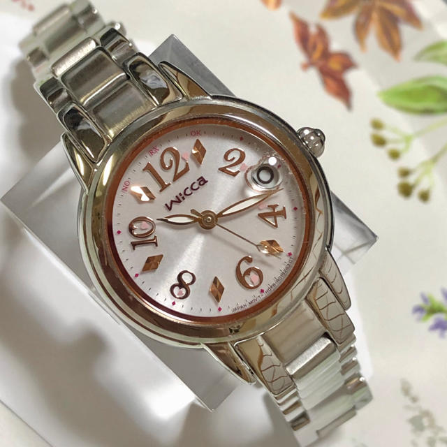CITIZEN - CITIZEN wicca(シチズンウィッカ)ソーラー電波時計 レディース腕時計の通販 by mnas shop|シチズンならラクマ
