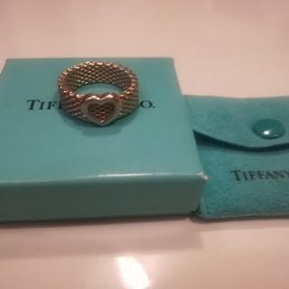 ティファニー(Tiffany & Co.)のファニー リング  ハート サマセット メッシュ(リング(指輪))