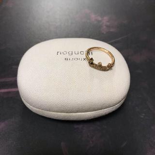 noguchi bijoux イニシャルリングE(リング(指輪))