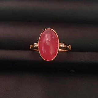 インカローズ   リング 天然ダイヤモンド付き(リング(指輪))