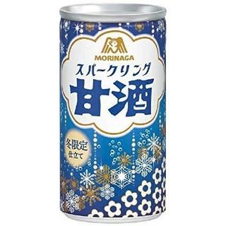 モリナガニュウギョウ(森永乳業)のスパークリング 甘酒 30本セット(ソフトドリンク)